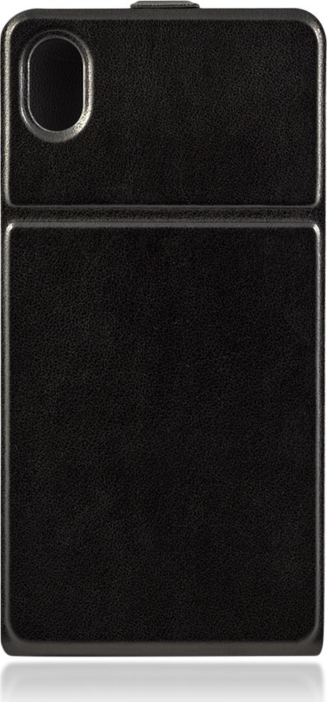 Чехол Brosco SlimFlip для Sony Xperia M4 Aqua, черный цена