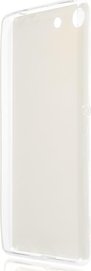 Чехол Brosco Leather TPU для Sony Xperia M5, белый стоимость