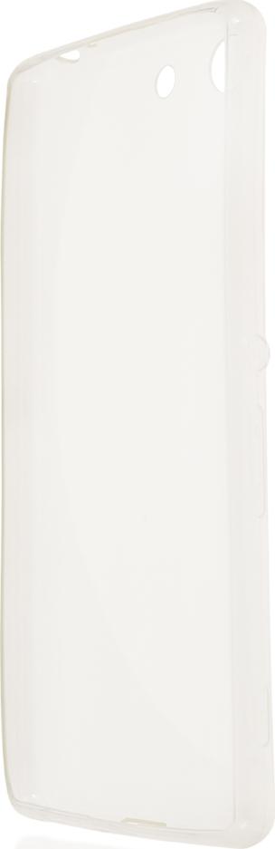 Чехол Brosco TPU для Sony Xperia M5, прозрачный стоимость