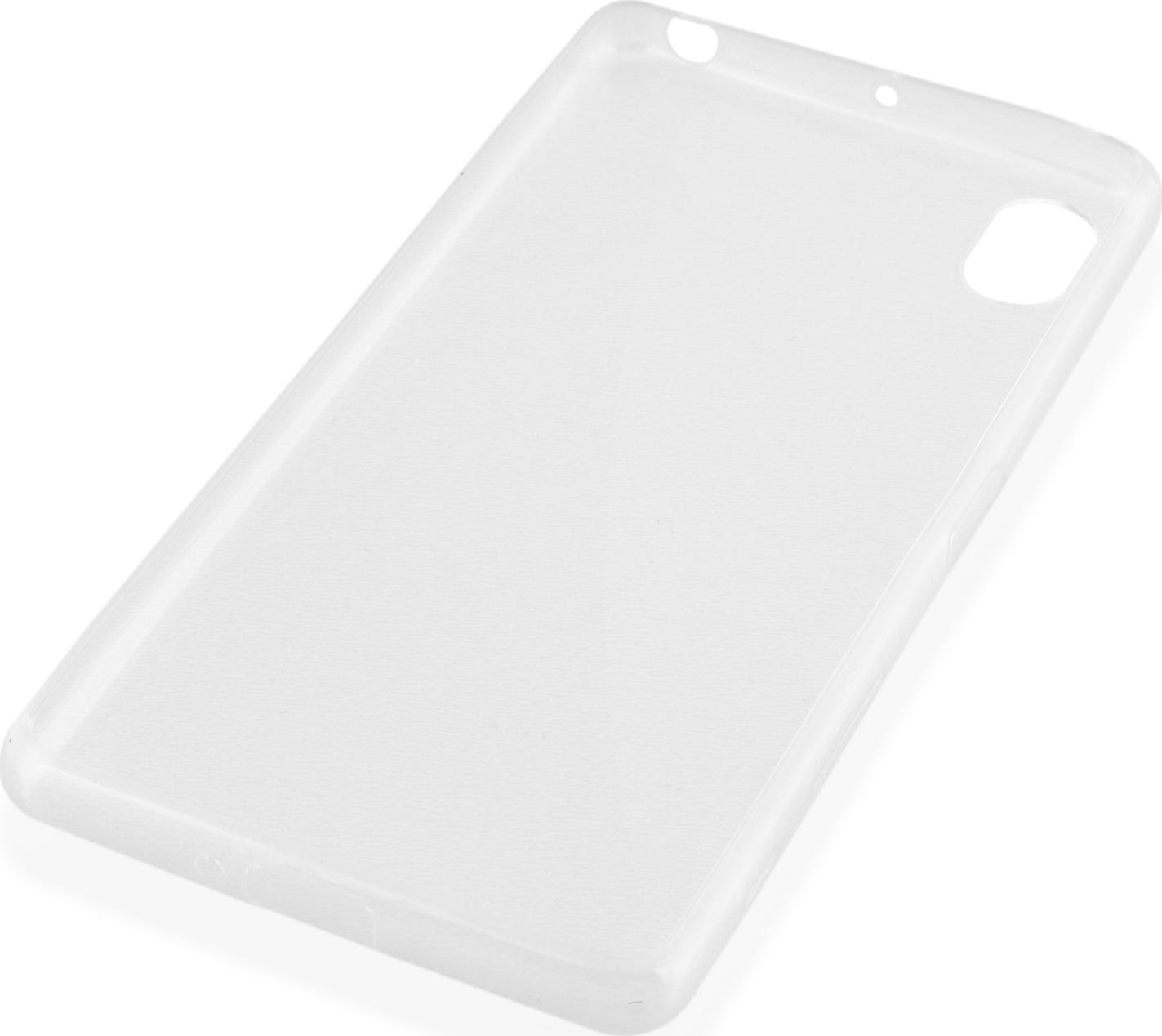 Чехол Brosco TPU для Sony Xperia X, прозрачный чехол для sony i4213 xperia 10 plus brosco силиконовая накладка черный