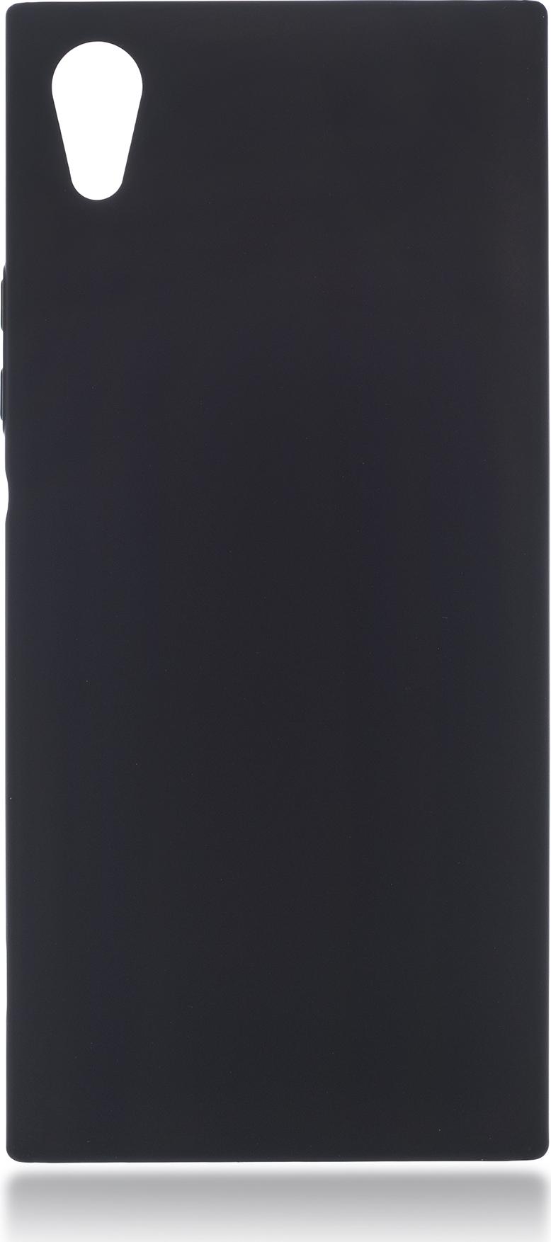 Чехол Brosco 4Side Soft-Touch для Sony Xperia XA1, черный цена