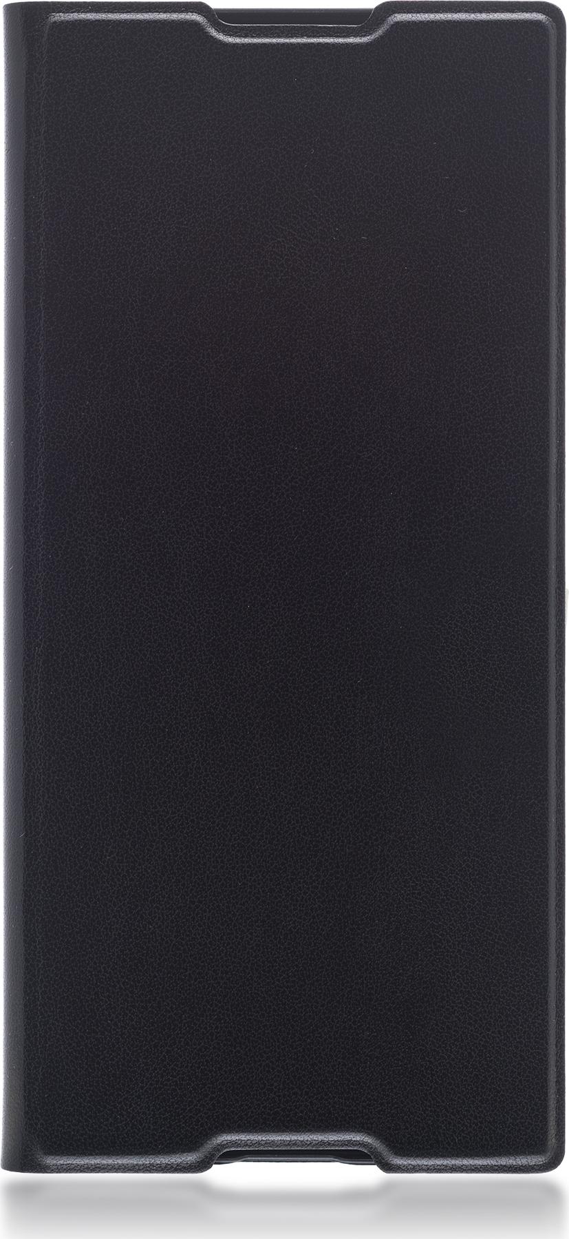 Чехол Brosco Book для Sony Xperia XA1, черный чехол для sony i4213 xperia 10 plus brosco силиконовая накладка черный