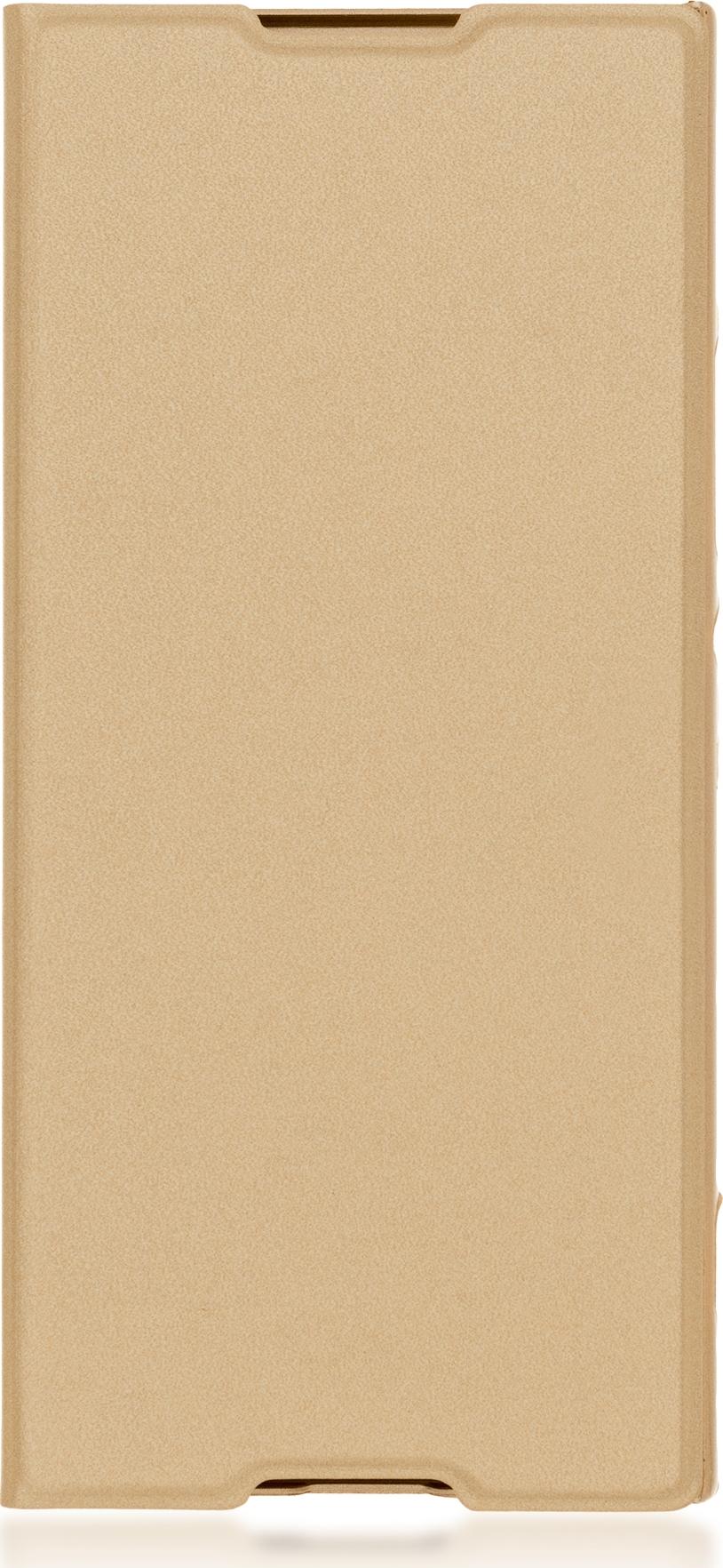 Чехол Brosco Book для Sony Xperia XA1, золотой чехол для sony g3412 xperia xa1 plus sony flip cover scsg70 белый