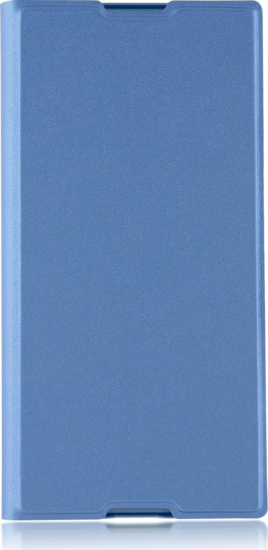 Чехол Brosco Book для Sony Xperia XA1 Plus, голубой комплектующие и запчасти для ноутбуков sony tablet z2 sgp511 512 541 z1