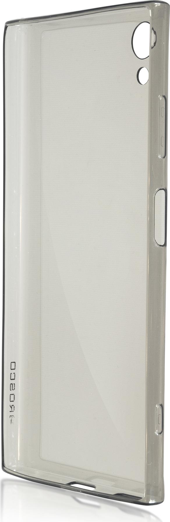 Чехол Brosco TPU для Sony Xperia XA1 Plus, черный