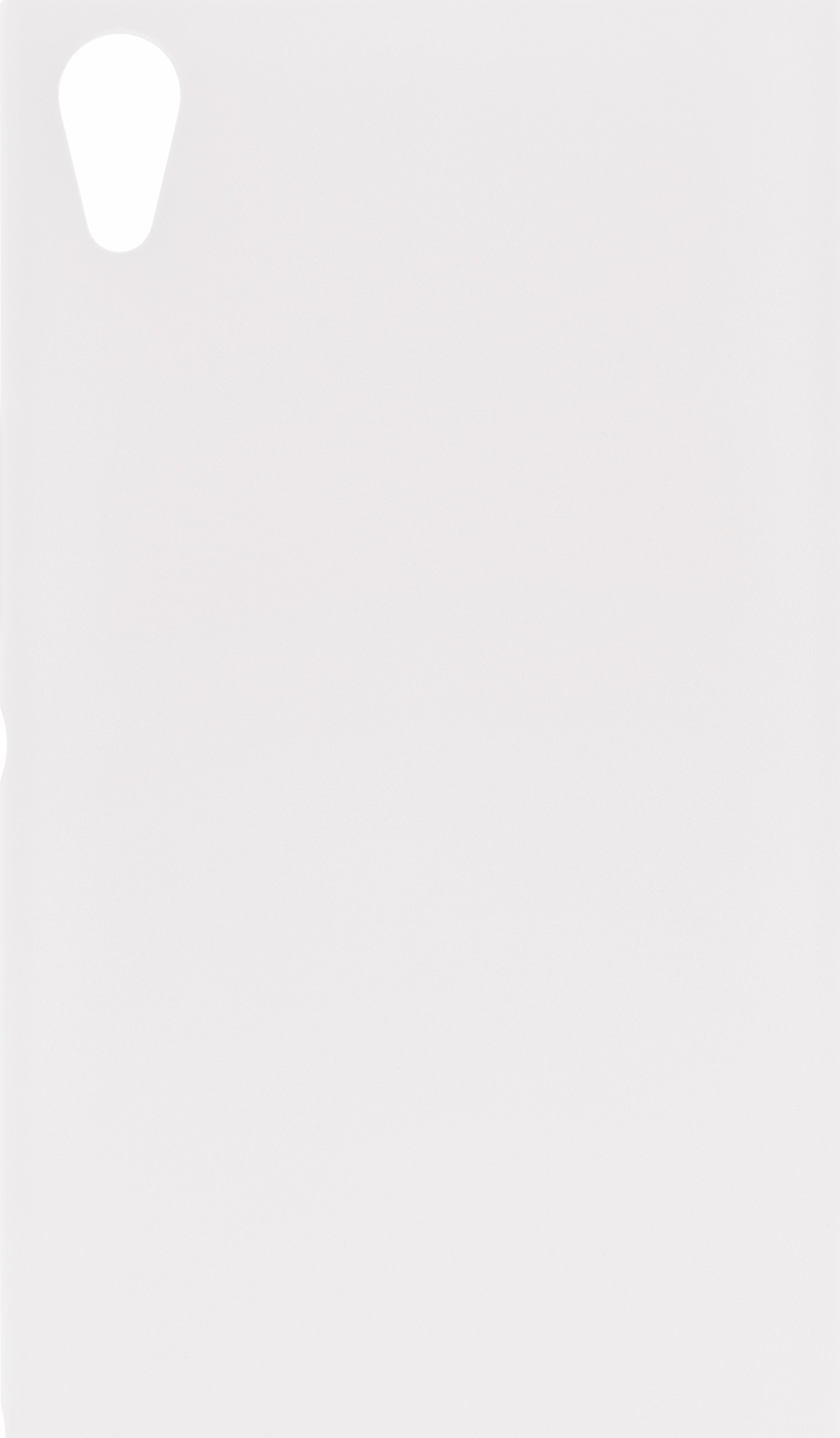 Чехол Brosco 4Side Soft-Touch для Sony Xperia XA1 Ultra, белый