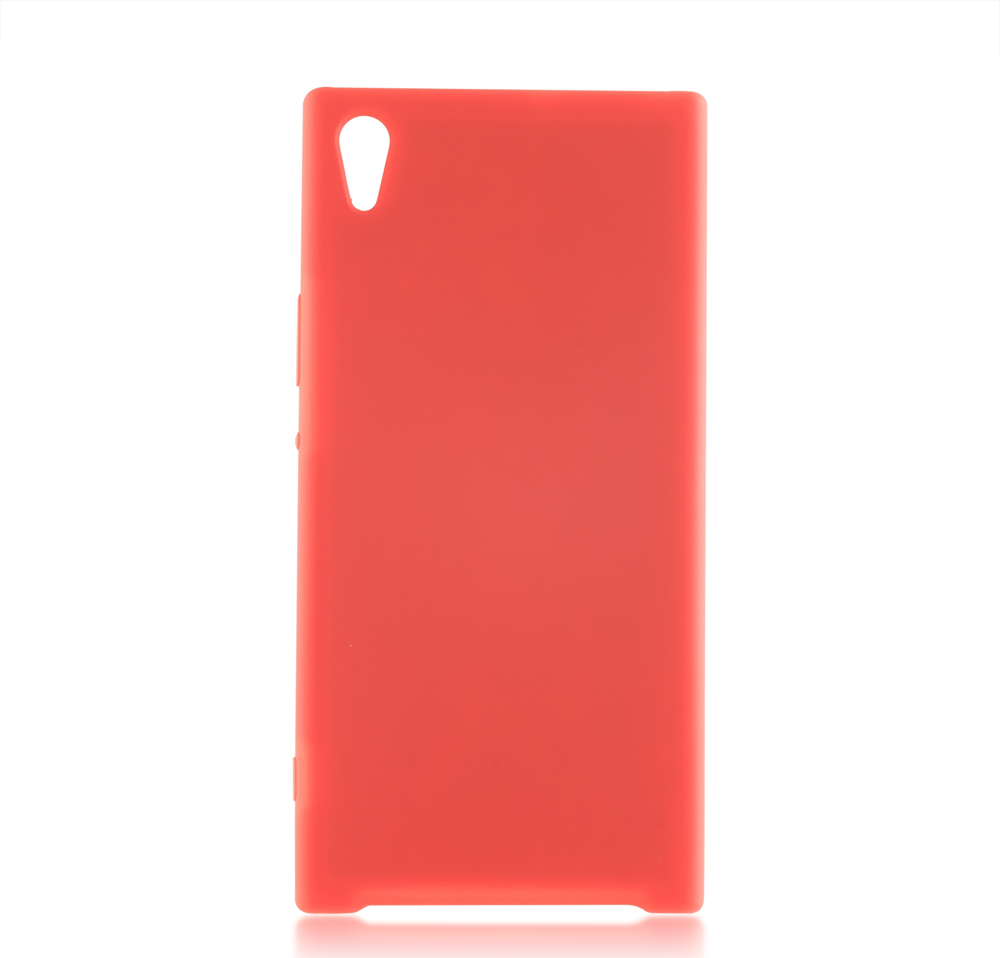 Чехол Brosco Softrubber для Sony Xperia XA1 Ultra, красный цена и фото