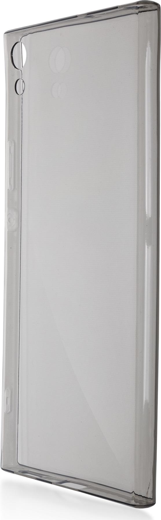 Чехол Brosco TPU для Sony Xperia XA1 Ultra, черный чехол для sony i4213 xperia 10 plus brosco силиконовая накладка черный
