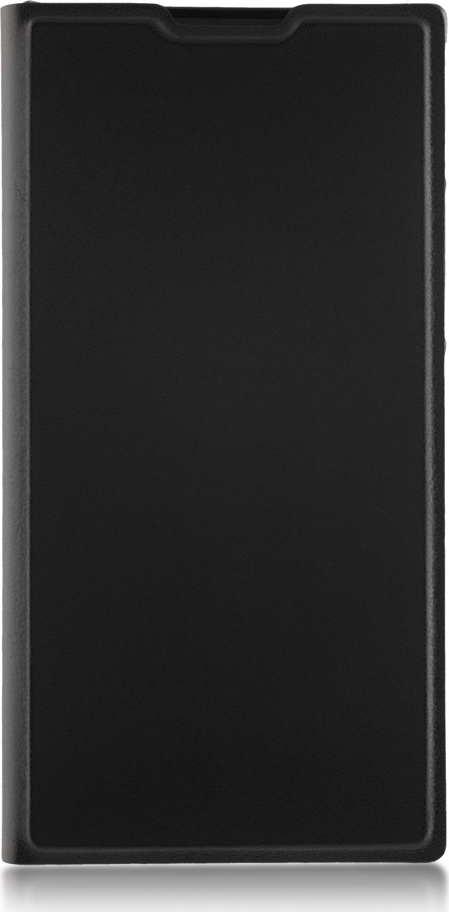 Чехол Brosco Book для Sony Xperia XA2, черный чехол для сотового телефона brosco для sony xa2 ultra xa2u book gold золотой