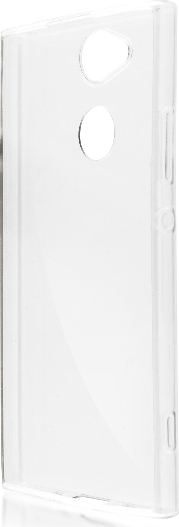 Чехол Brosco TPU для Sony Xperia XA2, прозрачный