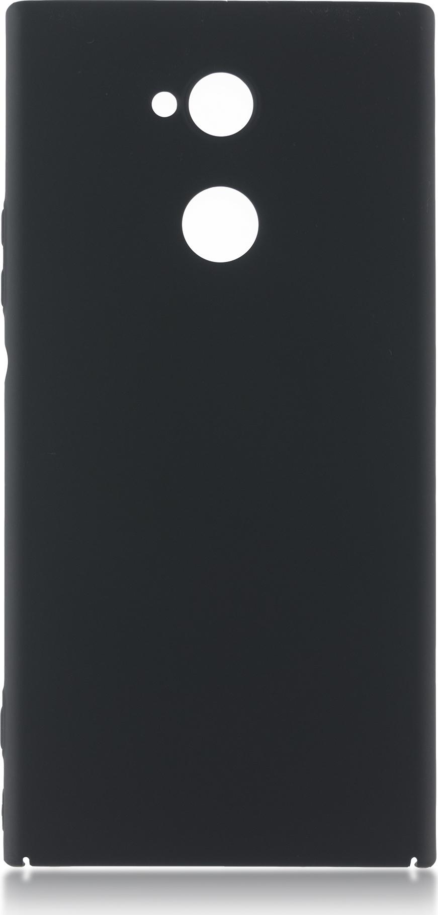 Чехол Brosco 4Side Soft-Touch для Sony Xperia XA2 Ultra, черный чехол для сотового телефона brosco для sony xa2 ultra xa2u book gold золотой
