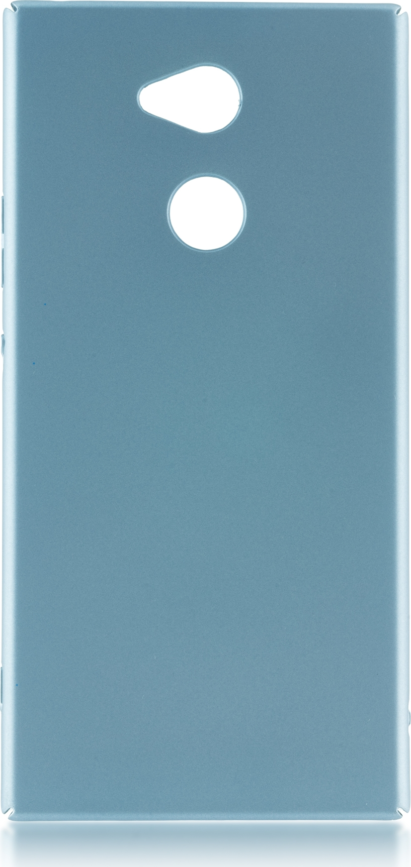 Чехол Brosco 4Side Soft-Touch для Sony Xperia XA2 Ultra, голубой