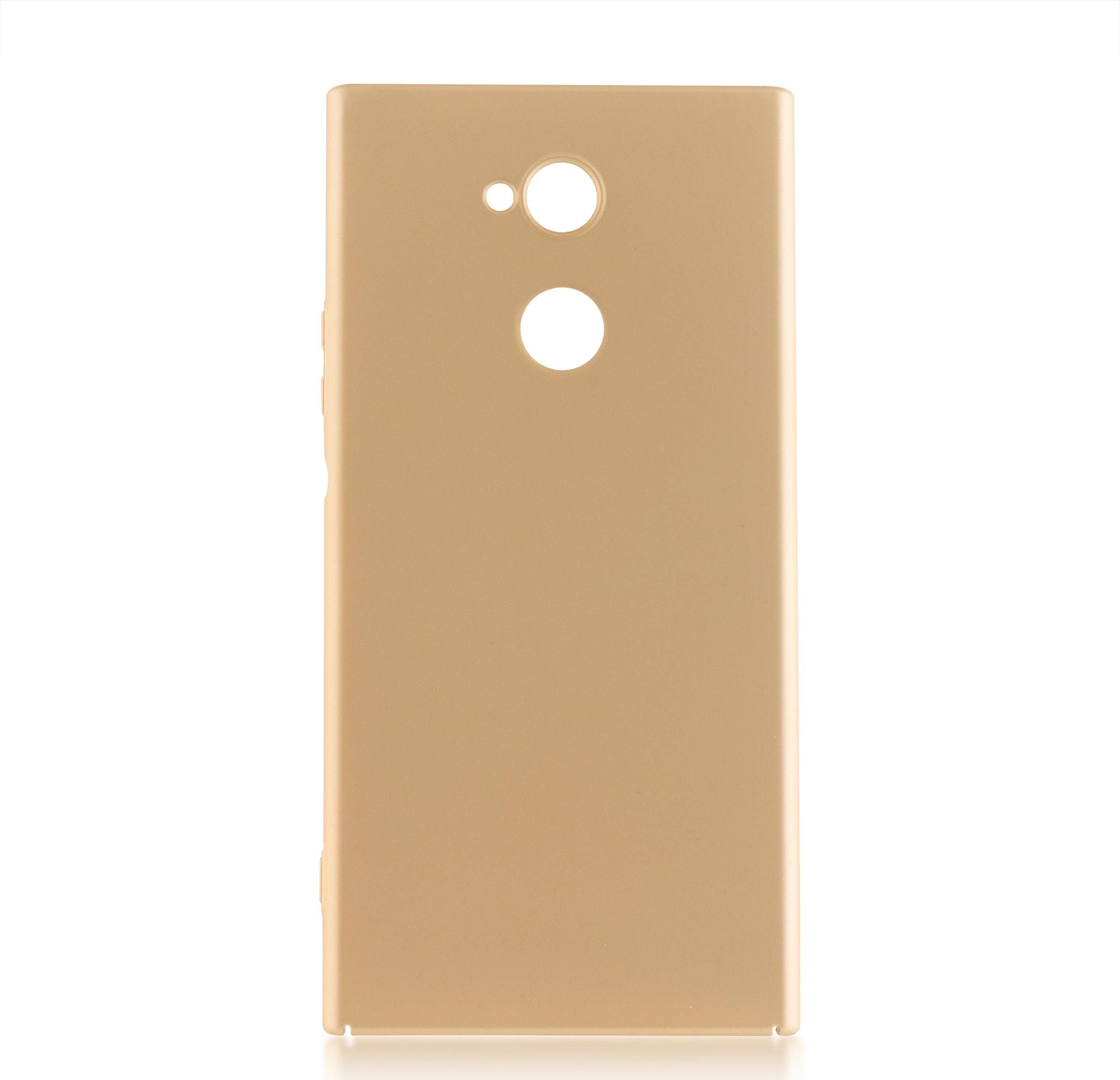 Чехол Brosco 4Side Soft-Touch для Sony Xperia XA2 Ultra, золотой чехол для сотового телефона brosco для sony xa2 ultra xa2u book gold золотой