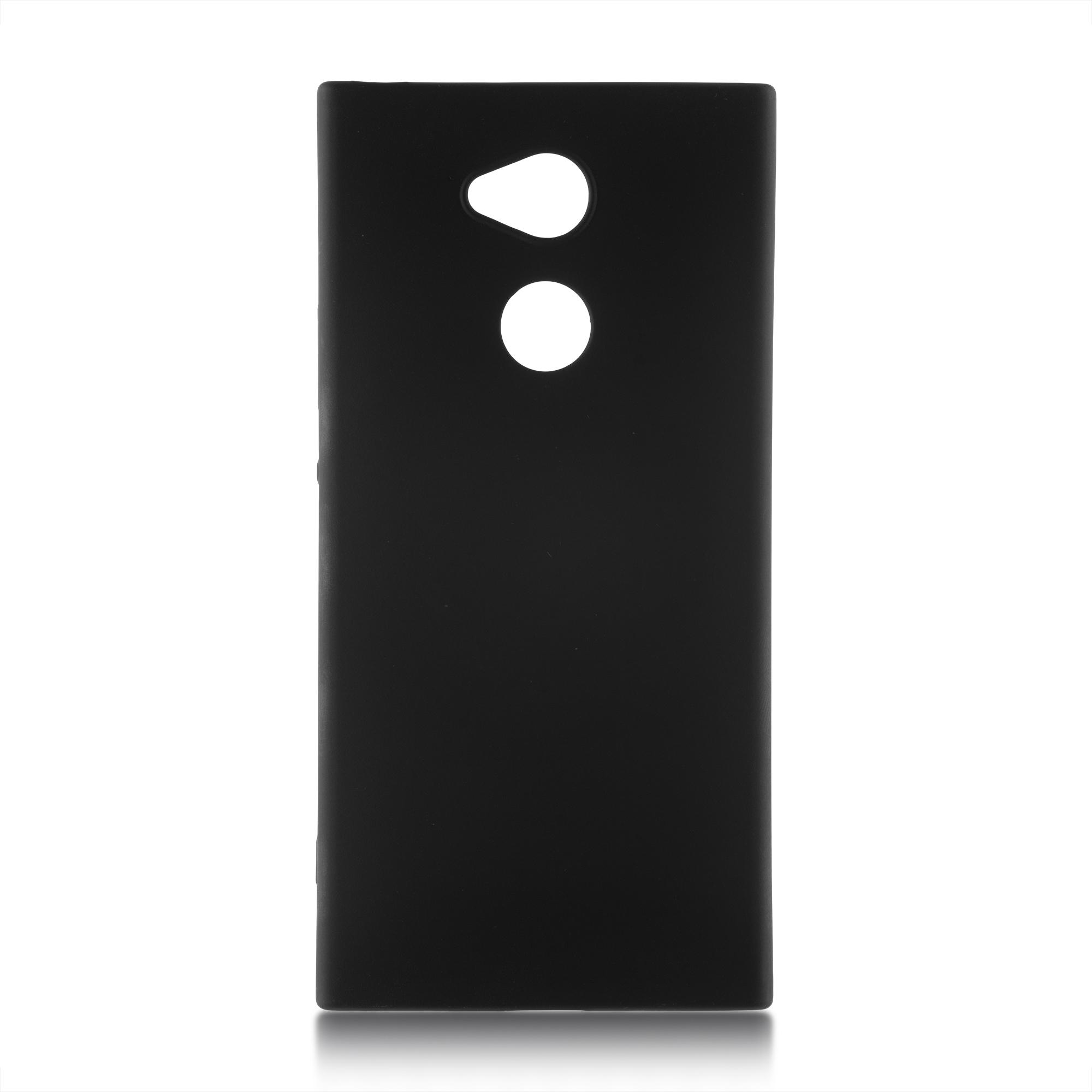 Чехол Brosco Colourful для Sony Xperia XA2 Ultra, черный
