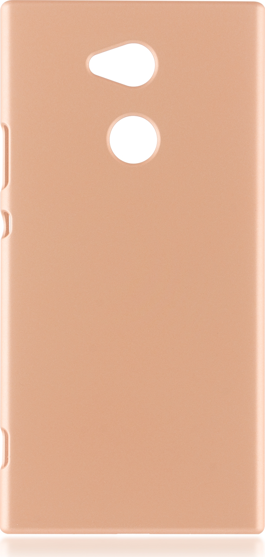 Чехол Brosco Soft-Touch для Sony Xperia XA2 Ultra, золотой чехол для сотового телефона brosco для sony xa2 ultra xa2u book gold золотой