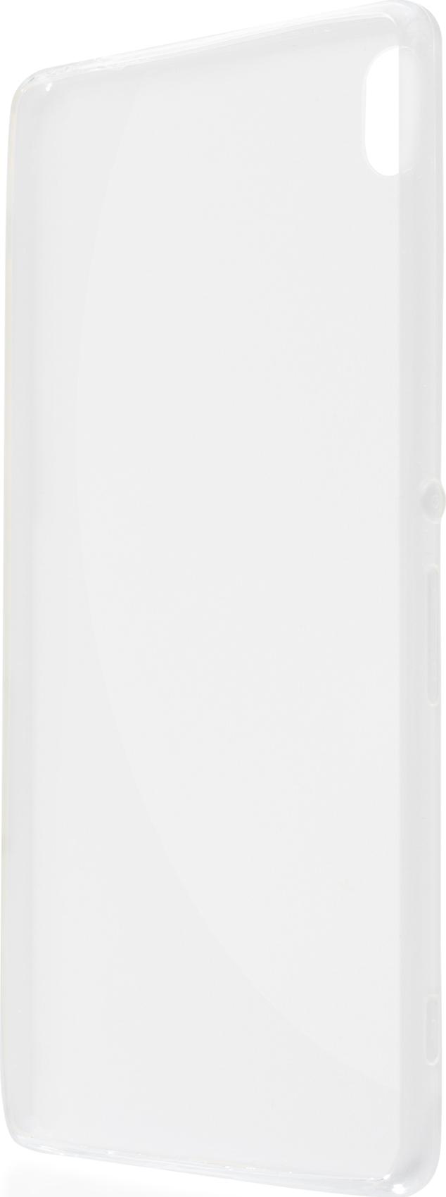 Чехол Brosco TPU для Sony Xperia XA Ultra, прозрачный icovercase синий sony xperia xa