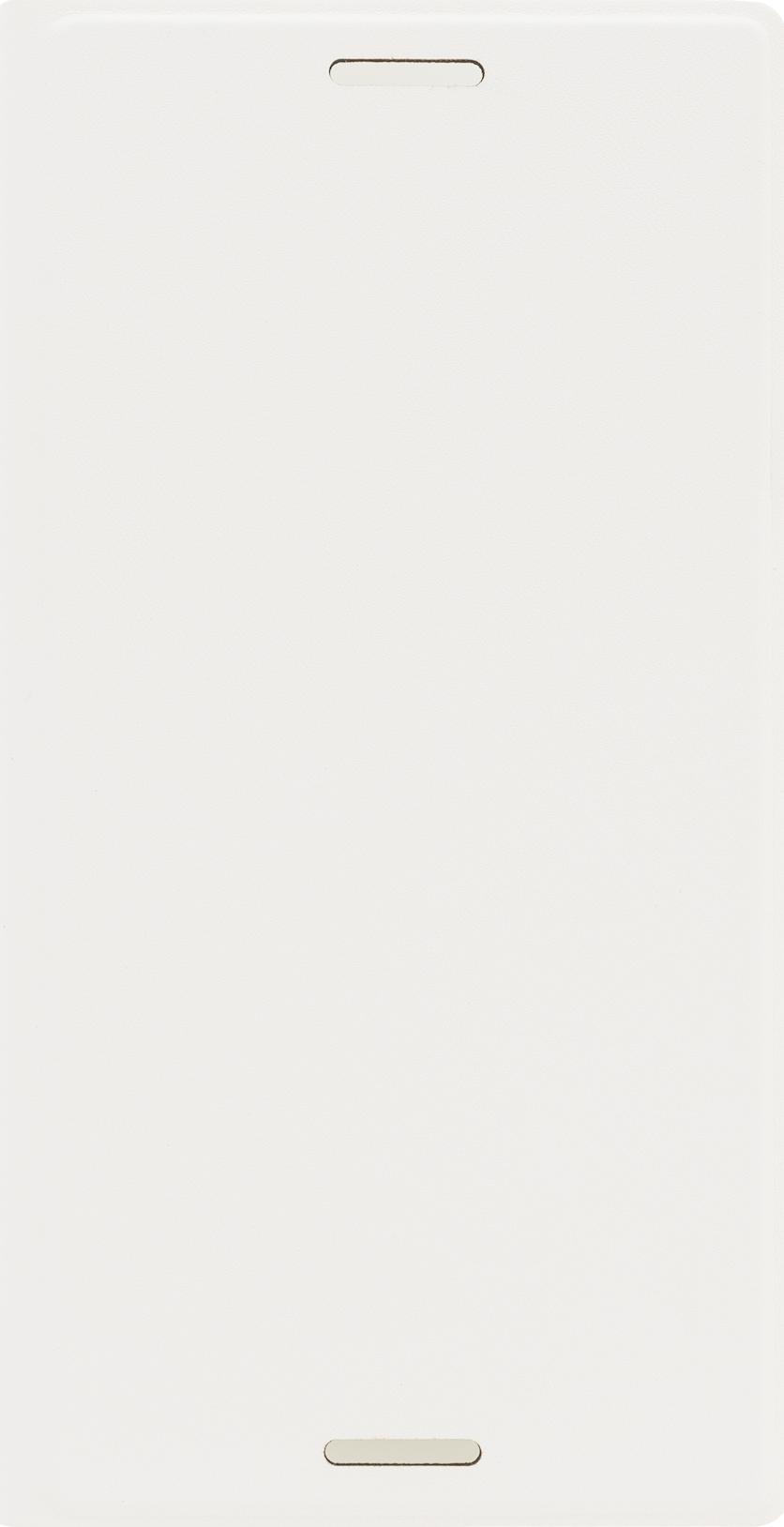 Чехол Brosco Book для Sony Xperia X Compact, белый цена и фото