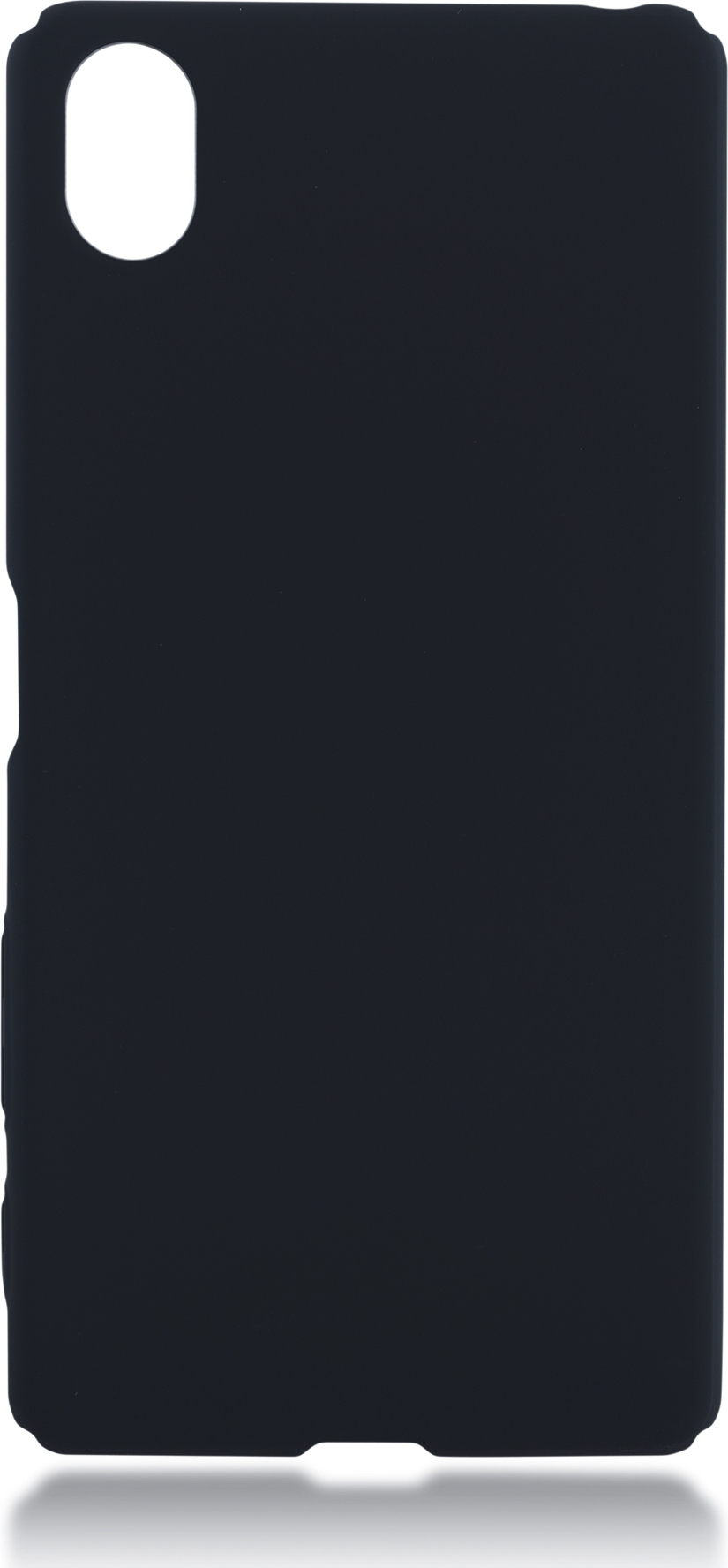 Чехол Brosco 4Side Soft-Touch для Sony Xperia X Perfomance, черный чехол для sony i4213 xperia 10 plus brosco силиконовая накладка черный