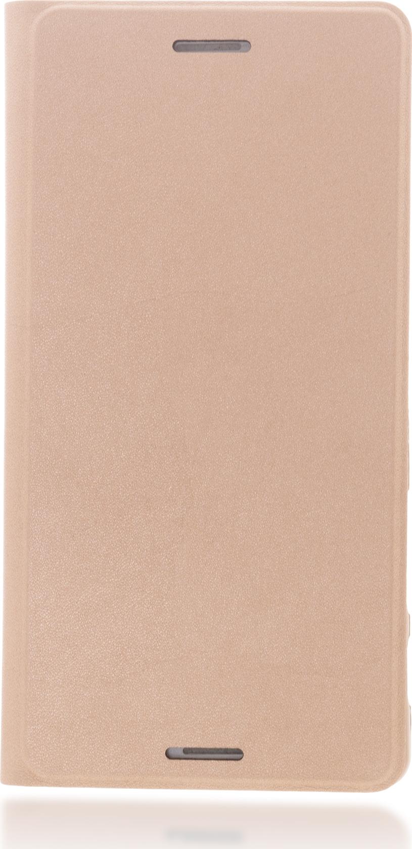 Чехол Brosco Book для Sony Xperia X Perfomance, розовый цена и фото