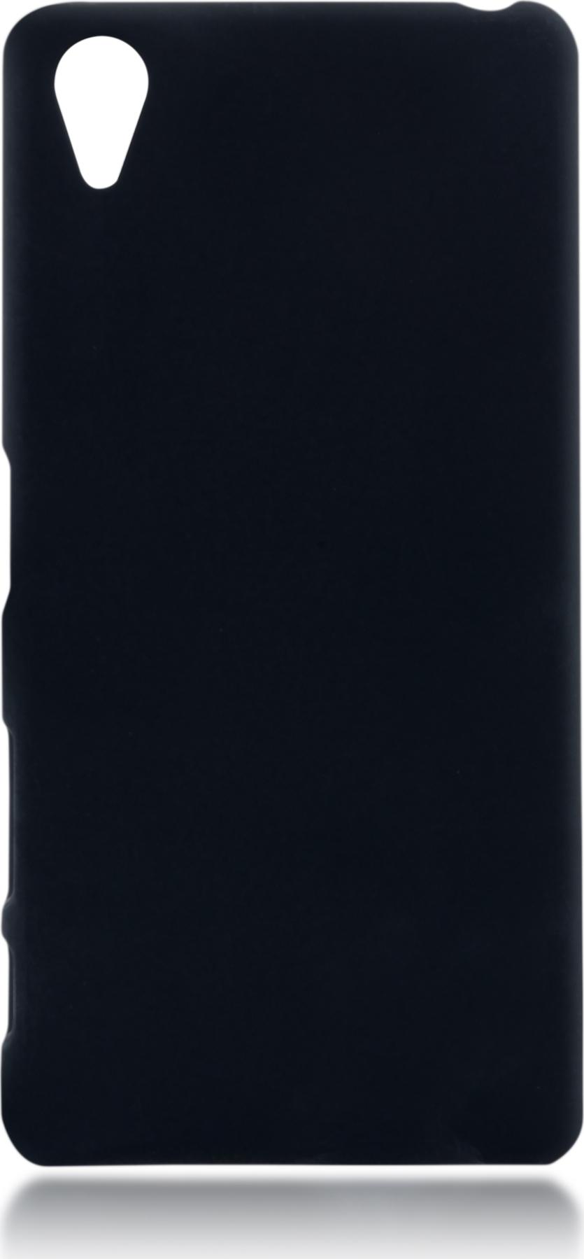 Чехол Brosco Soft-Touch для Sony Xperia X Perfomance, черный цена