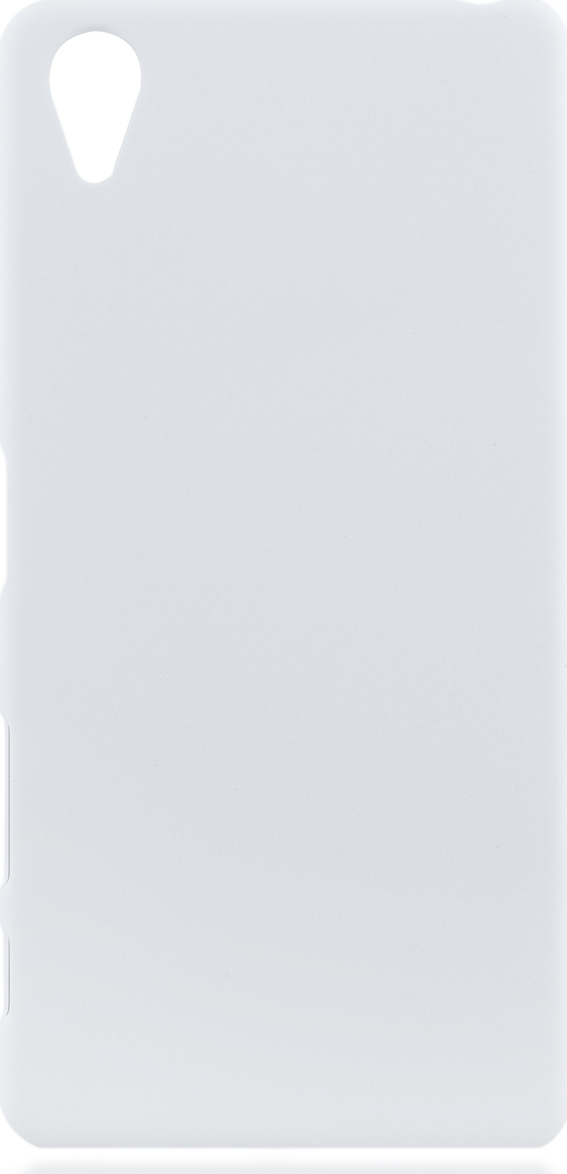 Чехол Brosco Soft-Touch для Sony Xperia X Perfomance, белый цена