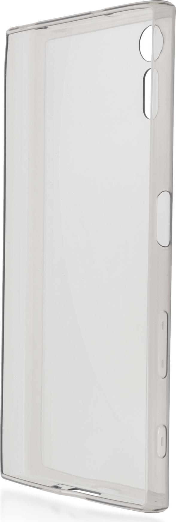Чехол Brosco TPU для Sony Xperia XZ, черный чехол для sony i4213 xperia 10 plus brosco силиконовая накладка черный