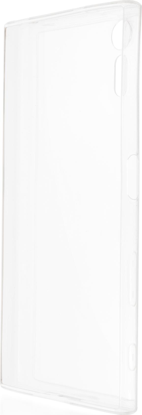 Чехол Brosco TPU для Sony Xperia XZ, прозрачный