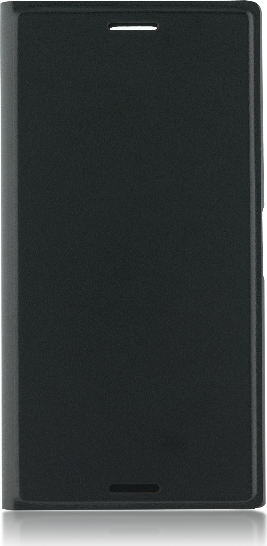 Чехол Brosco Book для Sony Xperia XZ1 Compact, черный