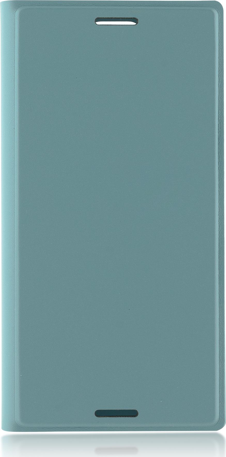 Чехол Brosco Book для Sony Xperia XZ1 Compact, голубой