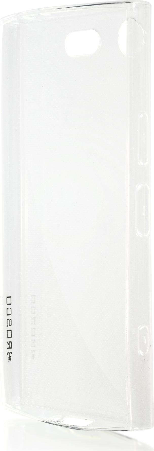 Чехол Brosco TPU для Sony Xperia XZ1 Compact, прозрачный