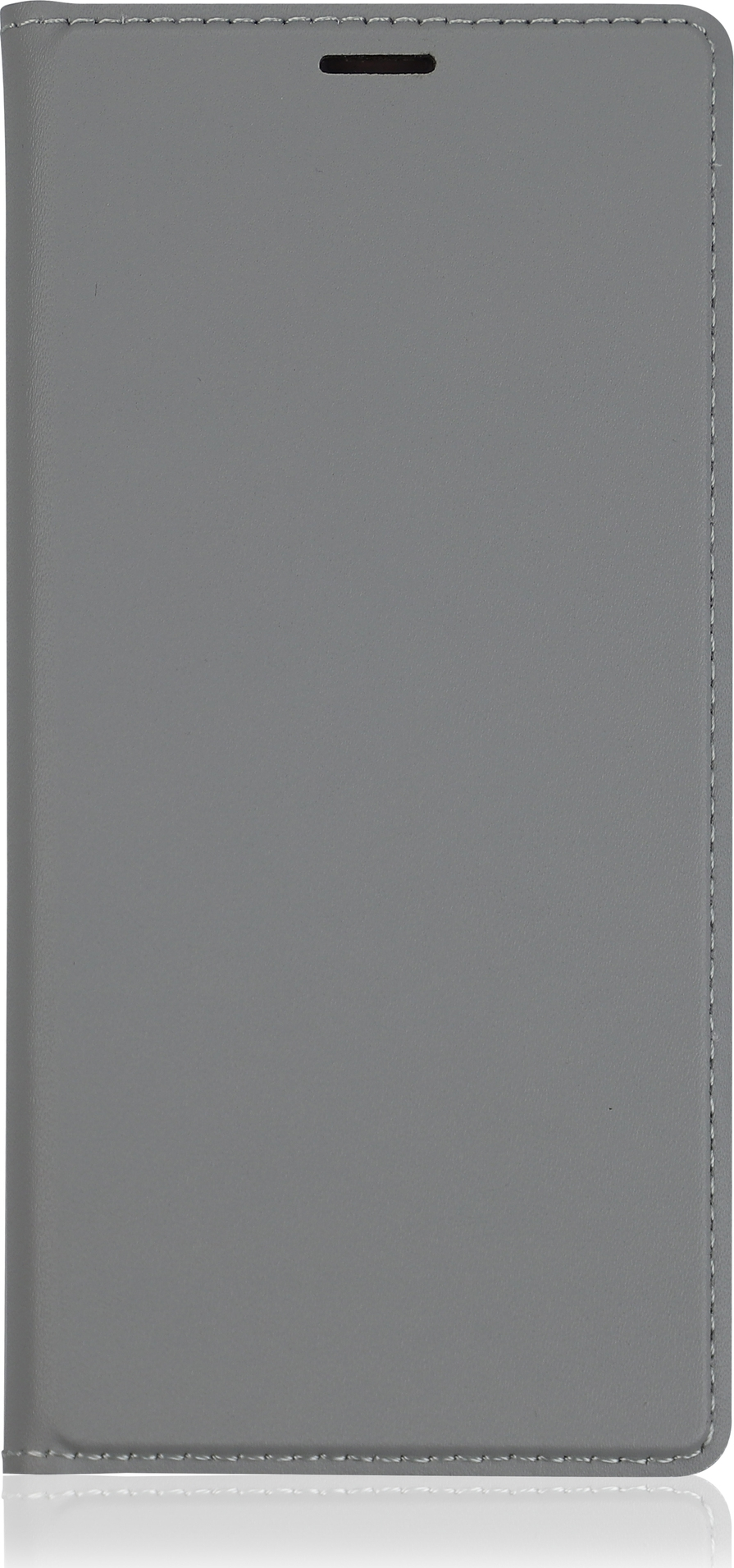 Чехол Brosco Book для Sony Xperia XZ2, серый чехол для сотового телефона brosco colourful для sony xz2 xz2 colourful green зеленый