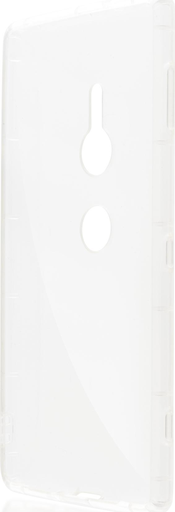 Чехол Brosco Hard для Sony Xperia XZ2, прозрачный