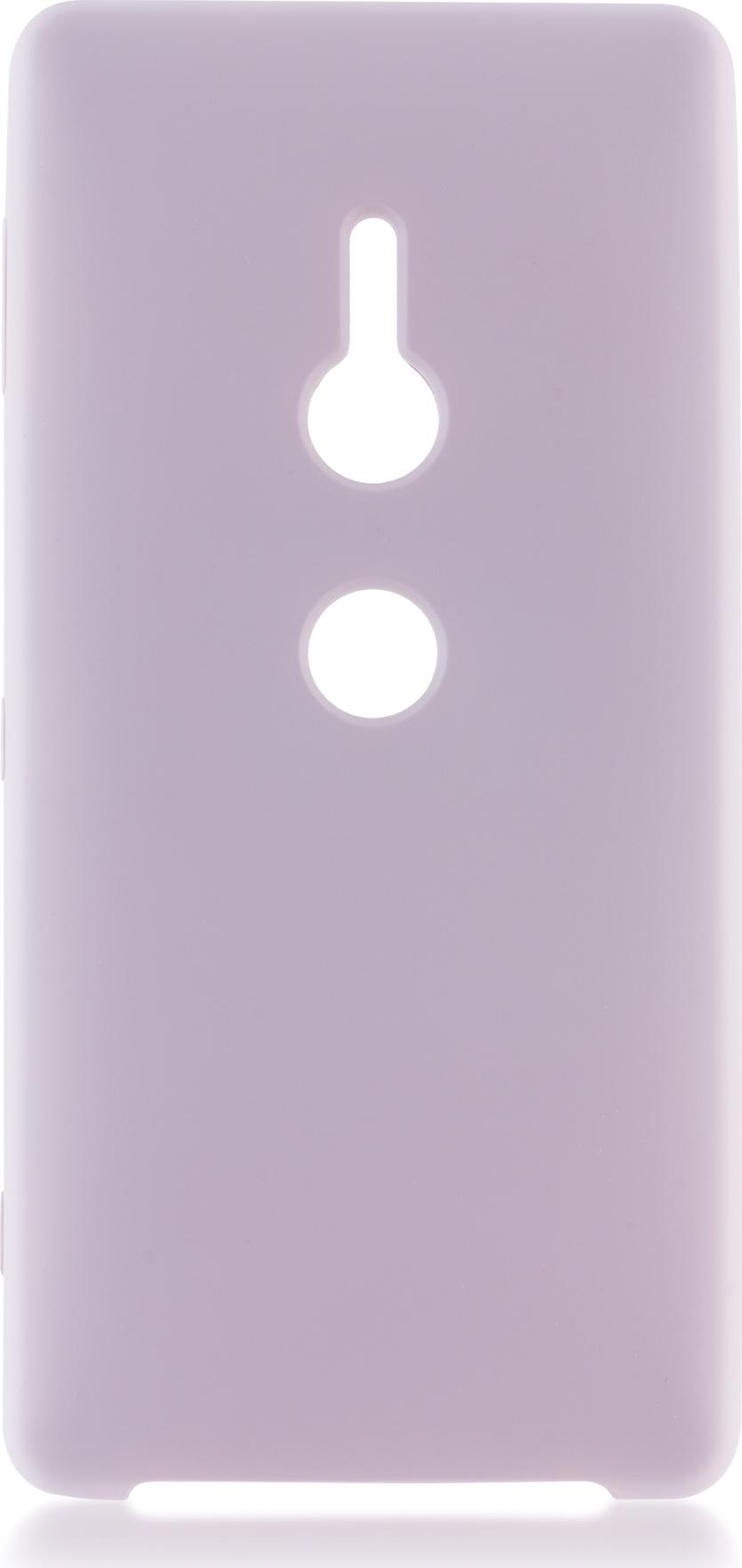 Чехол Brosco Softrubber для Sony Xperia XZ2, розовый wierss розовый для sony xz2