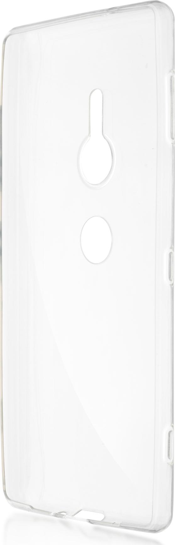 Чехол Brosco TPU для Sony Xperia XZ2, прозрачный