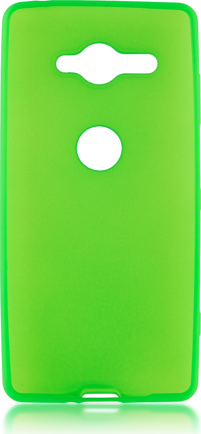 Чехол Brosco Colourful для Sony Xperia XZ2 Compact, зеленый аксессуар чехол для sony xperia xz2 compact brosco transparent xz2c tpu transparent