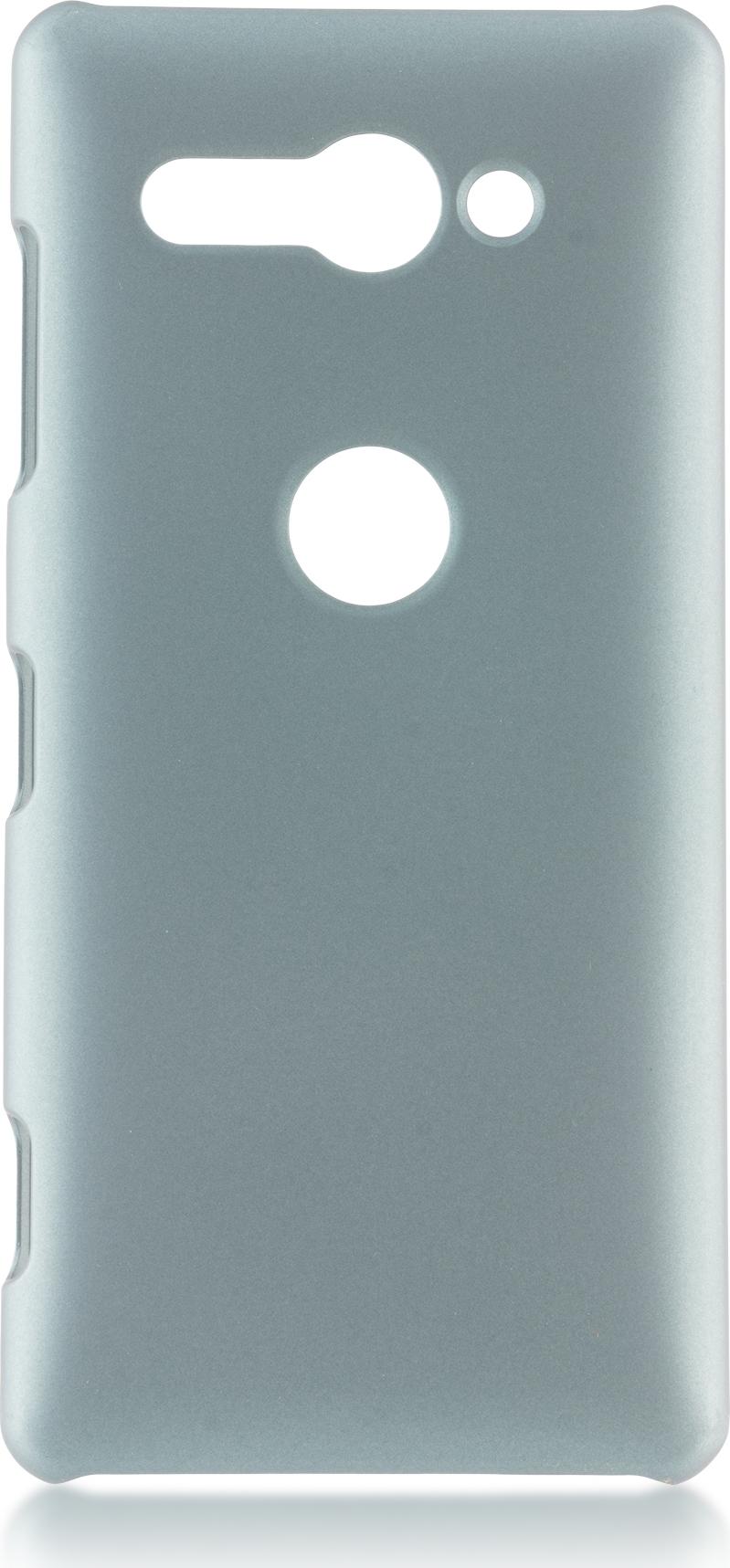 Чехол Brosco Soft-Touch для Sony Xperia XZ2 Compact, зеленый чехол для сотового телефона brosco двухсторонний soft touch для sony xz2 xz2 softtouch pink розовый
