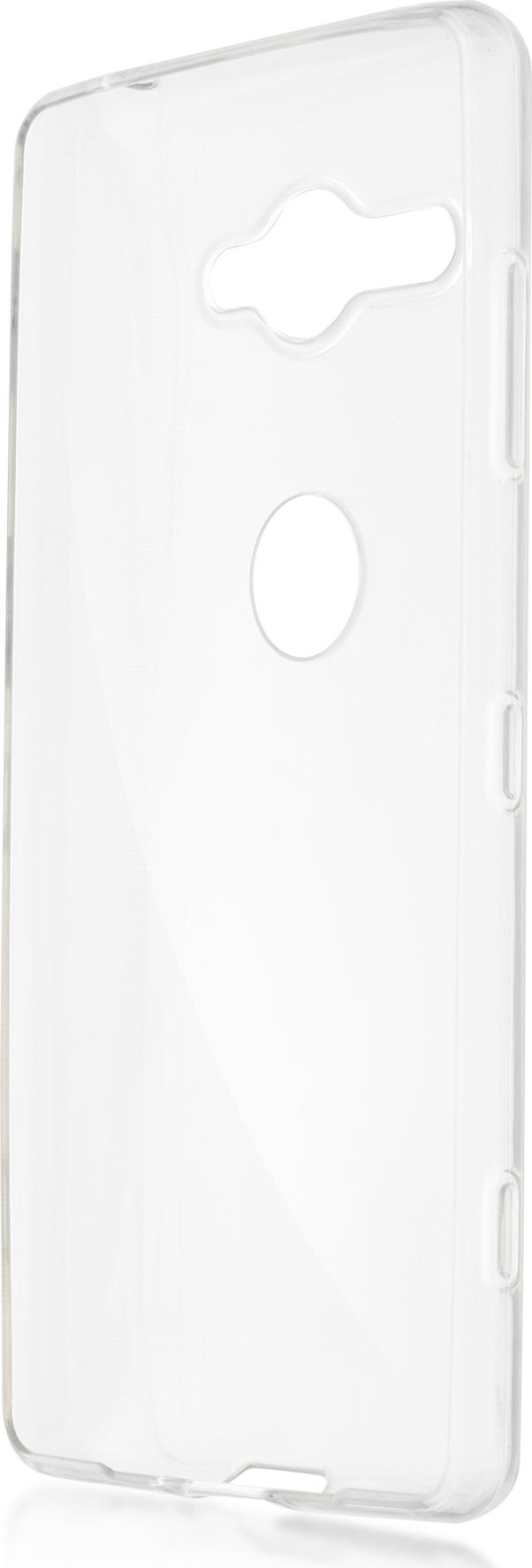 Чехол Brosco TPU для Sony Xperia XZ2 Compact, прозрачный аксессуар чехол для sony xperia xz2 compact brosco transparent xz2c tpu transparent