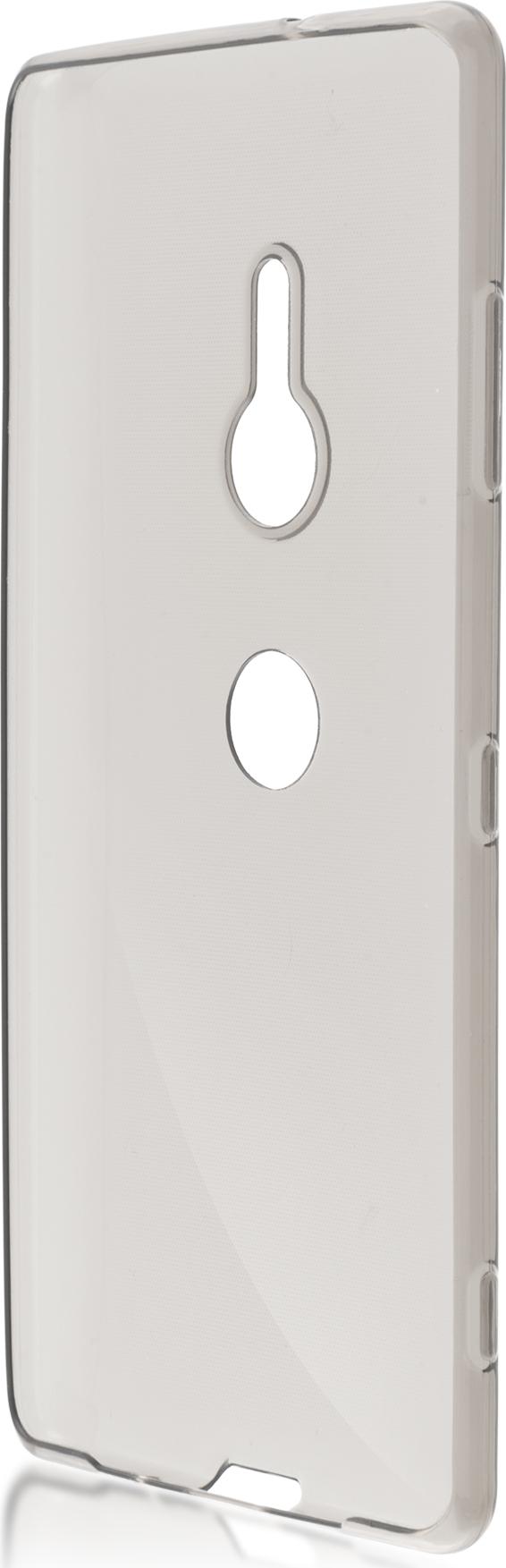 Чехол Brosco TPU для Sony Xperia XZ3, черный чехол для sony i4213 xperia 10 plus brosco силиконовая накладка черный