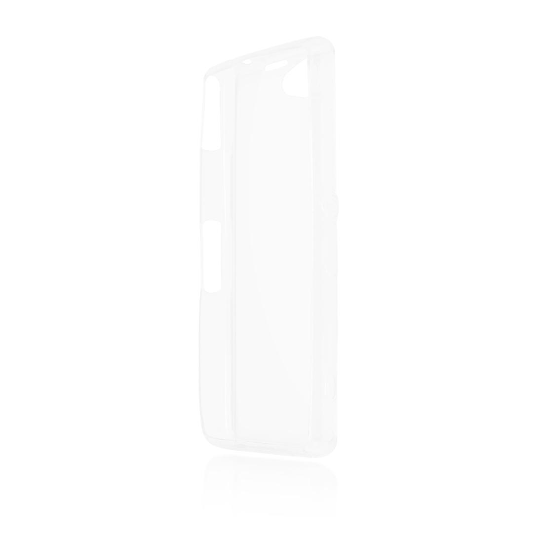 купить Чехол Brosco для Sony Xperia Z1 Compact, прозрачный онлайн