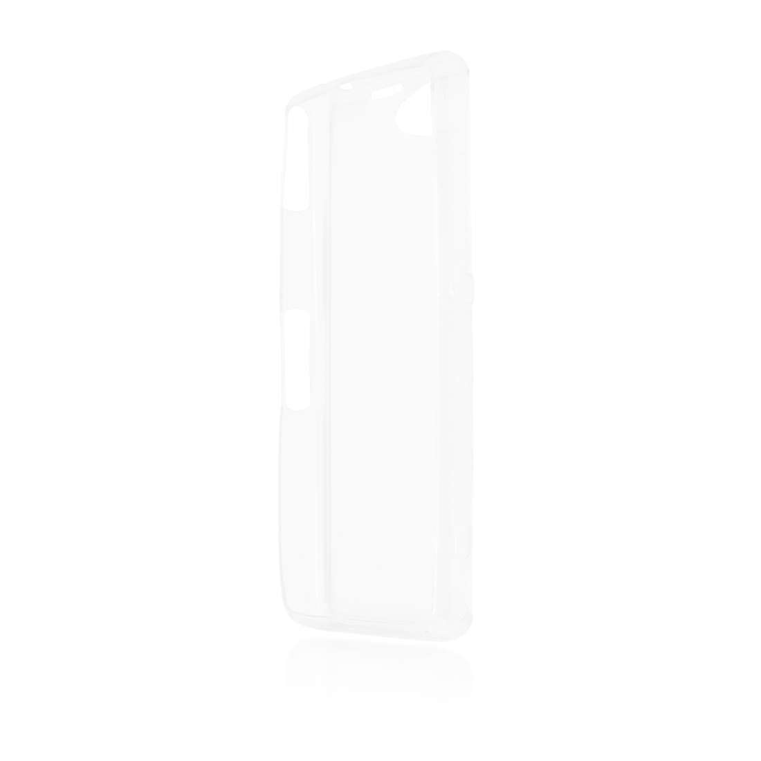 Чехол Brosco для Sony Xperia Z1 Compact, прозрачный чехол brosco для sony xperia z1 compact прозрачный