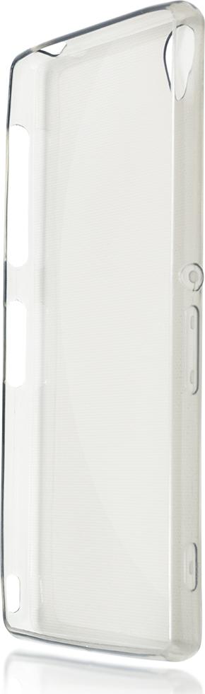 Чехол Brosco для Sony Xperia Z3, черный чехол для sony i4213 xperia 10 plus brosco силиконовая накладка черный
