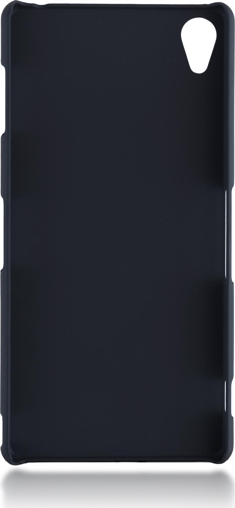 Чехол Brosco Soft-Touch для Sony Xperia Z3, черный