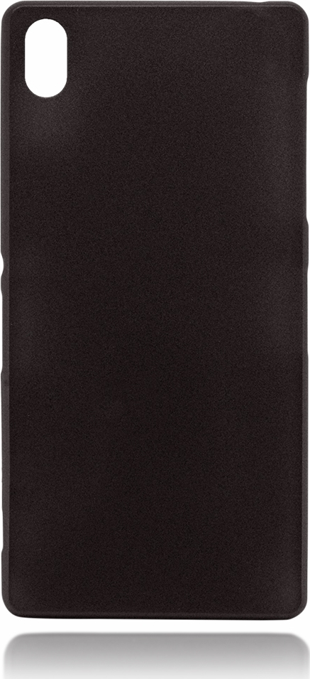 Чехол Brosco для Sony Xperia Z3, черный