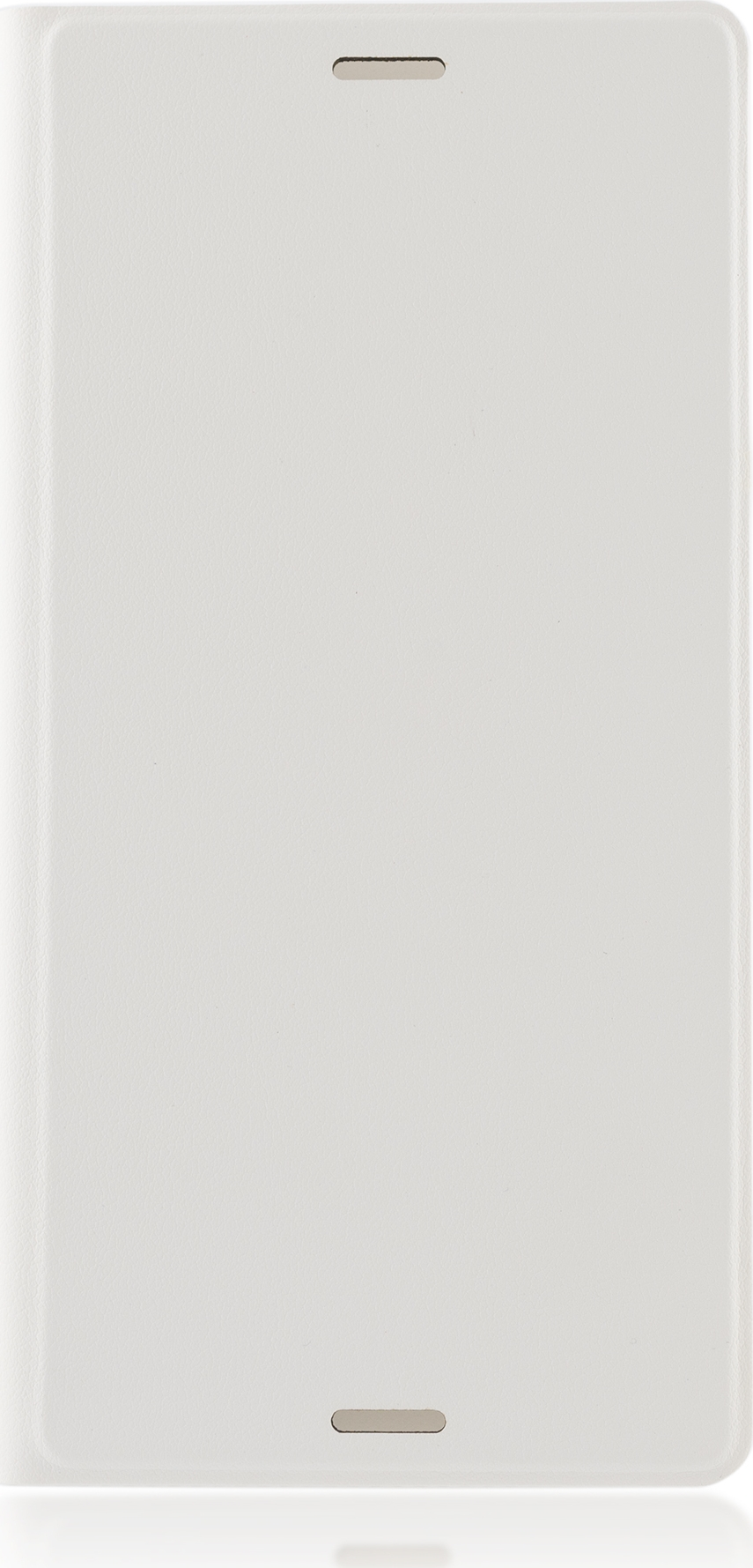 Чехол Brosco Book для Sony Xperia Z3, белый