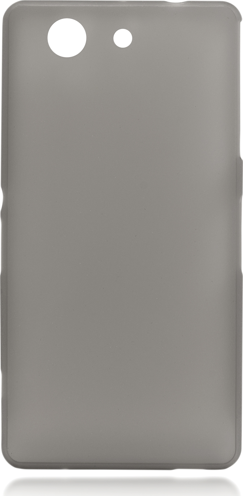 Чехол Brosco для Sony Xperia Z3 Compact, серый все цены