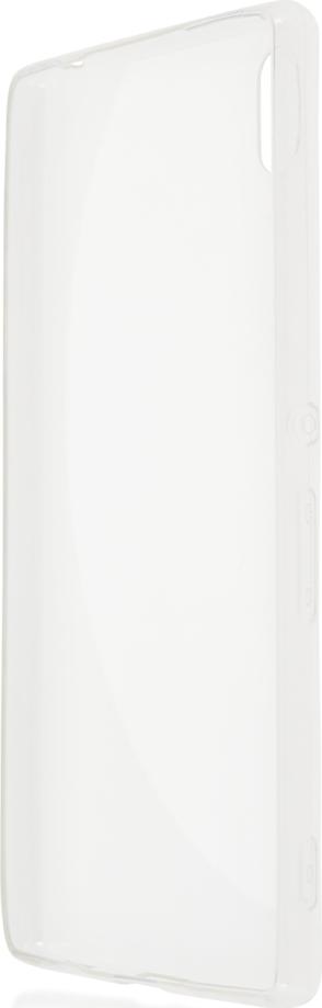 Чехол Brosco TPU для Sony Xperia Z3 Plus, прозрачный