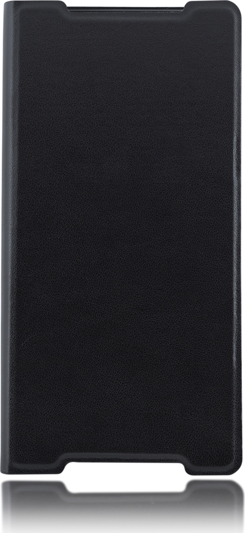 Чехол Brosco Book для Sony Xperia Z5, черный стоимость
