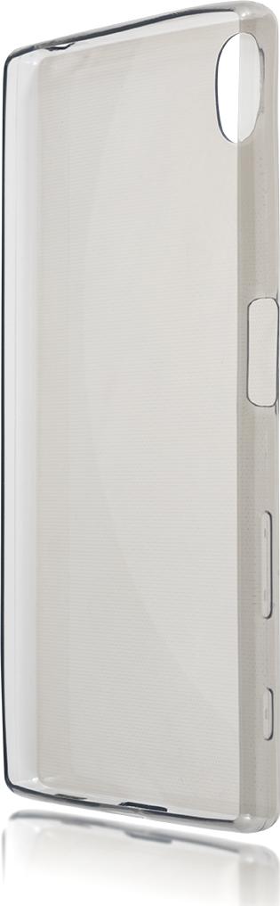 Чехол Brosco TPU для Sony Xperia Z5, черный чехол для sony i4213 xperia 10 plus brosco силиконовая накладка черный