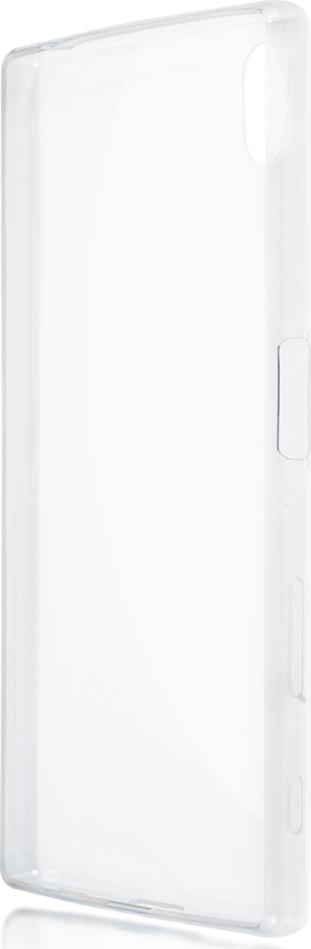 Чехол Brosco TPU для Sony Xperia Z5, прозрачный