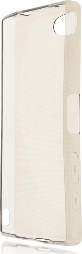 Чехол Brosco TPU для Sony Xperia Z5 Compact, черный